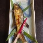 さかた  - 鮎の塩焼き