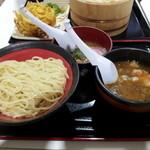 山岸一雄製麺所 イオン板橋店 - つけ麺+お子様ラーメン