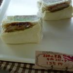 十字ベーカリー - 北海道羊蹄山牛肉コロッケサンド 135円