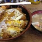 天ぷら 豊野 - 他人丼(海老・とんかつ)