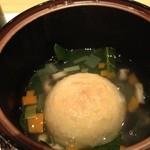 19028463 - 百合根饅頭沢煮あんかけ