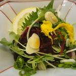 さかえ寿司 - カツオのたたき(サービス品)