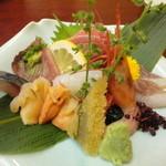 さかえ寿司 - お造り(上一人前) \2,200