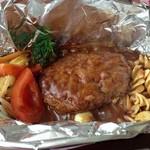 ラ・テラス大作 - 熱々煮込ハンバーグ
