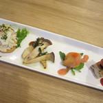 kitchen atelier puzzle - 前菜 4種類