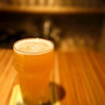 ビアカフェ 麦潤 - 大山Gビールのグランセゾン(ハーフ)820円