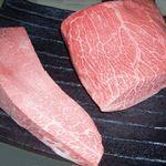 炭火焼肉屋台 たじま屋 - 宮崎牛、三角バラとミスジ