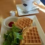 CAFE Suginoki - ワッフルモーニング