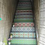 19035383 - 階段がアラブ模様