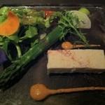 レストランJ - 帆立貝とズワイ蟹のブランマンジェ