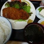錦乃 - ロースカツ定食