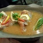 クワン チャイ - レモンで爽やか白身魚スープ煮