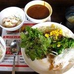 1904299 - バイキングのライス・サラダ・カレー・本日の惣菜・スープ