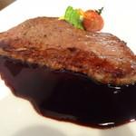 キッチンオルト - 仙台牛の腿肉のステーキ