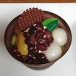 ル・レーヴ - お抹茶プリン(325円)