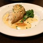 フォルトゥーナ - 【ディナー】ゴールデンポークのモッツァレラチーズ インボルティーニ ポルチーニのソース添え
