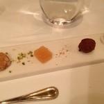 レストラン マノワ - 食後の小菓子