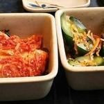 19045050 - キュウリと白菜のキムチ