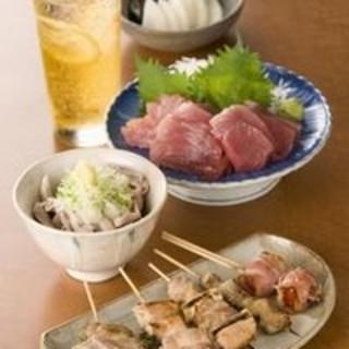 5品おすすめ料理4000円~