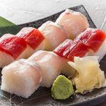 花びし - 押し寿司<日替り> 740円