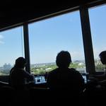 バー コンチネンタル - 店内からの眺め