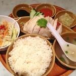 シンガポール海南鶏飯 - シンガポール海南鶏飯980円