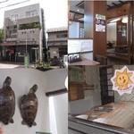 19047582 - 外観、店内。製麺している所も、見られます。