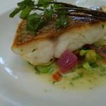 タブリエ - 真鯛のソテー・アップ