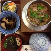 三松-ほろほろ鳥釜めし(ランチ)