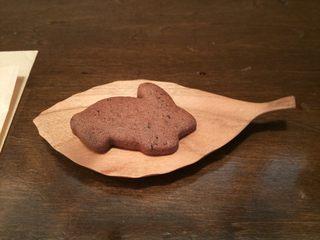 ユキカフェ - サービスのクッキー♪