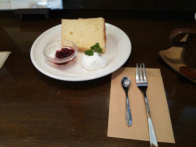ユキカフェ - シフォンケーキ♪