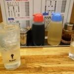餃子工房ゆうき屋 - レモンサワー250円期間限定(通常は380円)
