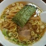麺道楽紋次郎 - 匠しょうゆ780円
