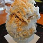 邑 wagashi&cafe - 黒蜜きなこかき氷