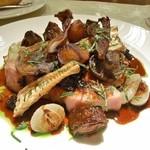 ル・ジャルダン・デ・サヴール - ブルターニュ産仔牛のロースト モリーユ茸のソース