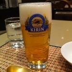 タラ - 生ビール