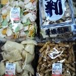 エヒメ菓子 - 料理写真:この4種類がエヒメ菓子さんの御菓子です