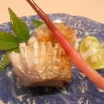 もり川 - 太刀魚うに巻焼き