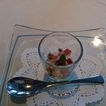 ミクニ ヨコハマ - たこのマリネにきゅうりのソース