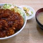 チャボ食堂 - チャボカツ丼