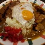 セイロンキッチン Bentota - ツインエッグの激辛オイル
