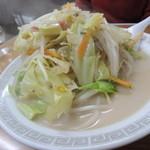 びいどろ - 【ヘルシーちゃんぽん@700円】 麺は少な目♪ 野菜は山盛りです。