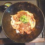 大よし - 和牛カルビ丼 880円