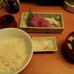 まるきん - 刺身定食500円
