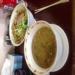 19059724 - つけ麺大盛り