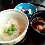 19062440 - 新生姜の飯蒸し