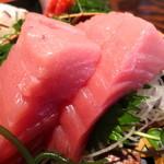 金山魚市場ぴち天 - 中トロはめっちゃ美味しい♪