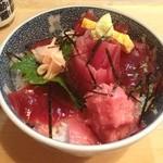 割烹 和知 - 鉄火丼 2013.5撮影