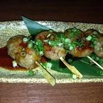 納屋之炭 - 柚子風味つくね串 タレ焼き