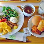 センダンヤ - 朝食の盛付け例